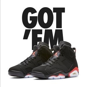 Jordan 6 infrared (2019 retro)